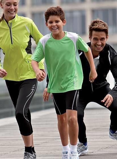 Dětské sportovní tričko Running
