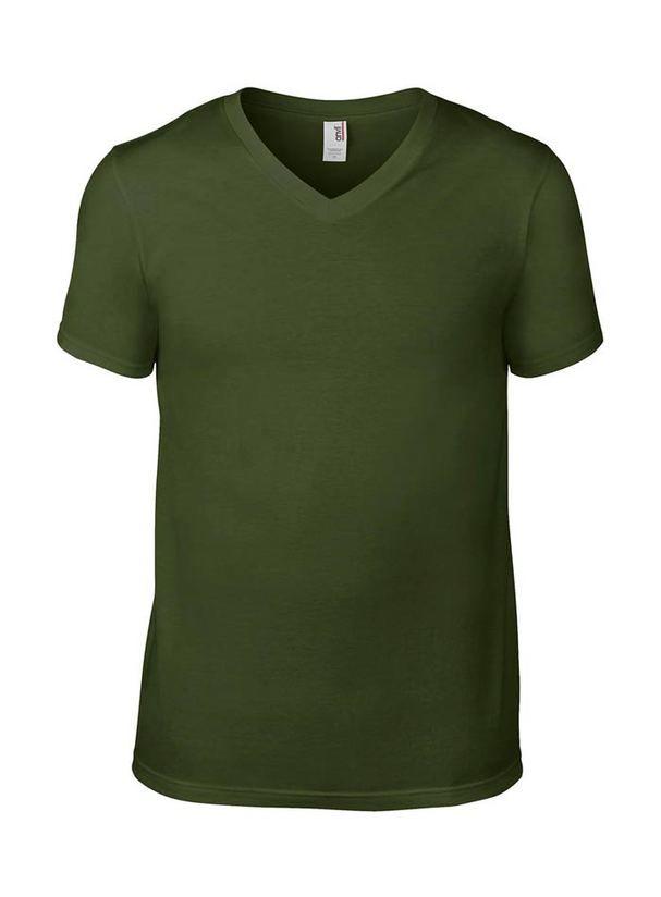 831eb9c71ae6 Pánské tričko Fashion s výstřihem do V