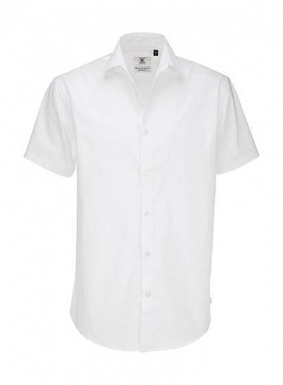 Pánská popelínová košile Elastane