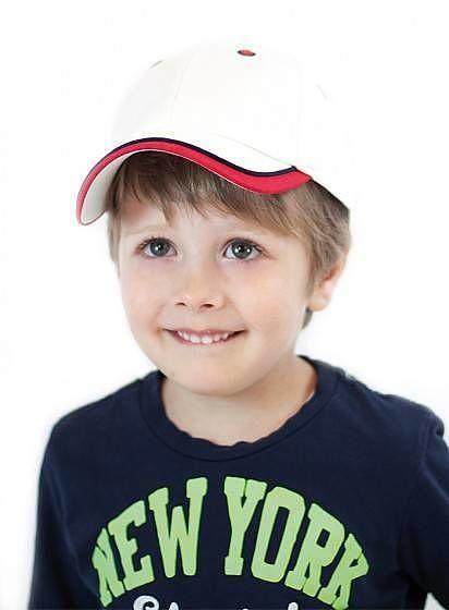 Dětská dvoubarevná kšiltovka