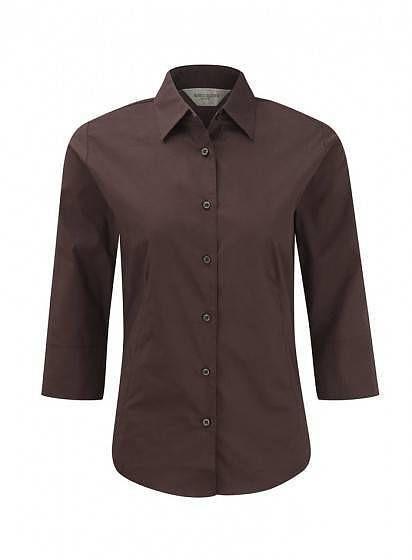 Dámská stretch košile s 3/4 rukávem