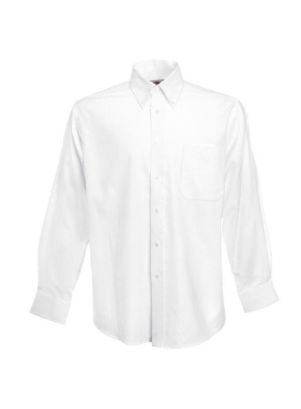 Pánská košile Oxford s dlouhým rukávem  b9ad162779